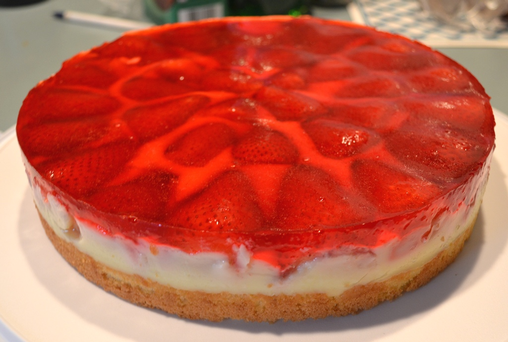 Strawberry Torte | Baking in Saskatoon