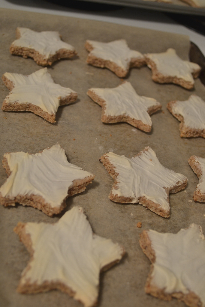 Cinnamon Stars Baking In Saskatoon