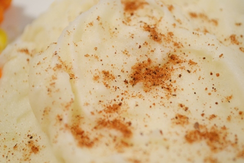 Mashed potatoes with nutmeg