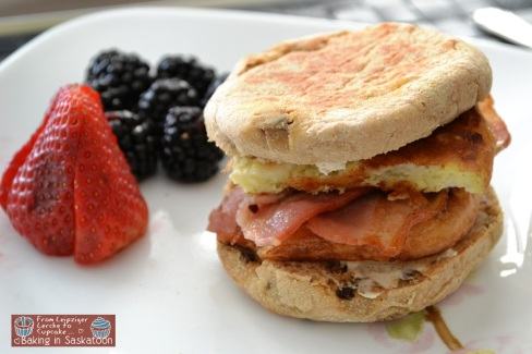 Egg & Bacon English Muffin