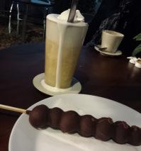 Chocolate grapes & Eggnog