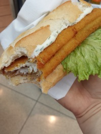Fried Fish Baguette