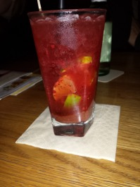 Strawberry Caipirinia